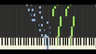 Schubert Sonata in A major, [D 959] No. 4 Rondo Allegretto - Piano Tutorial - Synthesia
