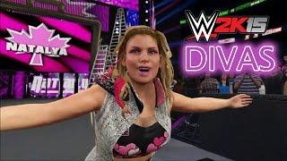 WWE 2K15 - All Divas