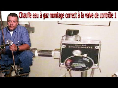chauffe eau gaz montage correct la valve de contr le 1 youtube. Black Bedroom Furniture Sets. Home Design Ideas