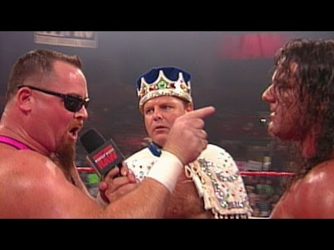 King Court with British Bulldog and Jim Neidhart: Raw,