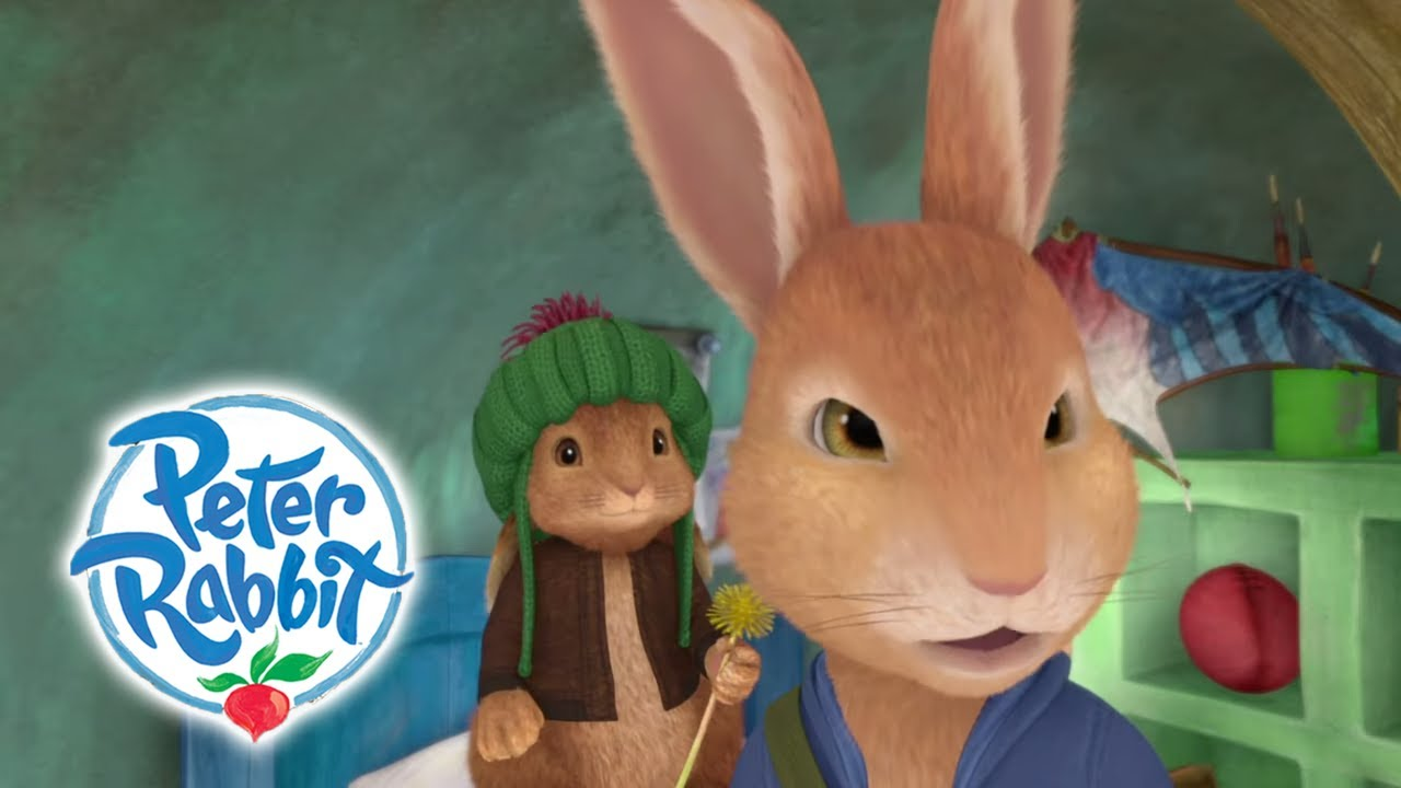 Peter Rabbit - What's He Doing Here?   Cartoons for Kids - YouTube