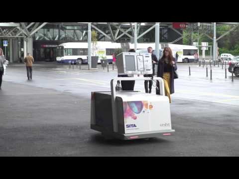 ‧ 日內瓦機場用機器人為旅客搬行李:效率大增