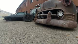 Nephilim kustoms devil's garage choptop kustom  rat rod bagged blown nitrous airride