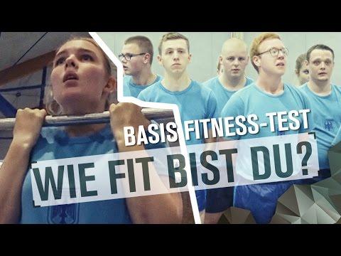 Der BASIS FITNESS TEST   Tag 06