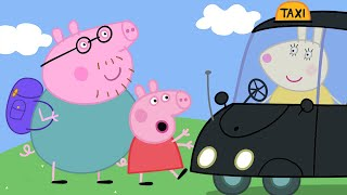 Peppa Pig English Episodes | Miss Rabbit's Taxi