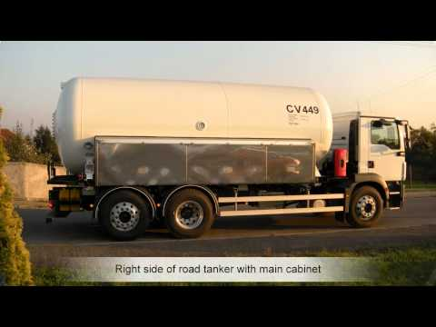 LPG road tanker for GCA TRANS France
