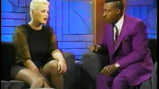 Brigitte Nielsen @ The Arsenio Hall Show