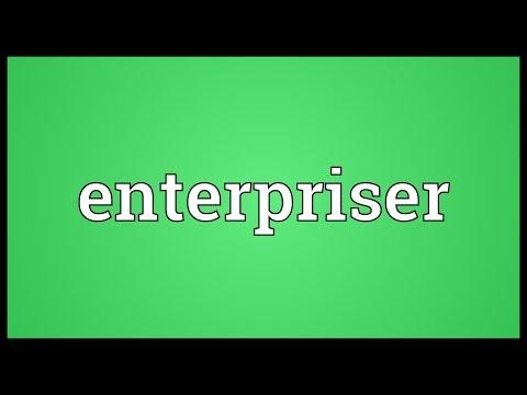 Header of enterpriser