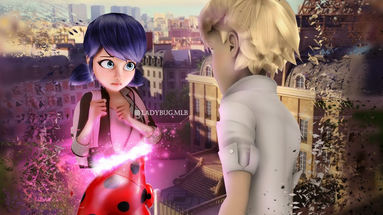 Miraculous Ladybug Speededit: #Adrinette . Disclosure of identity!!!