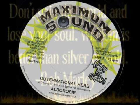 """ALBOROSIE-OUTERNATIONAL HERB-MAXIMUM SOUNDS 7""""(LIMITED EDITION)"""
