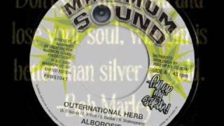 "ALBOROSIE-OUTERNATIONAL HERB-MAXIMUM SOUNDS 7""(LIMITED EDITION)"