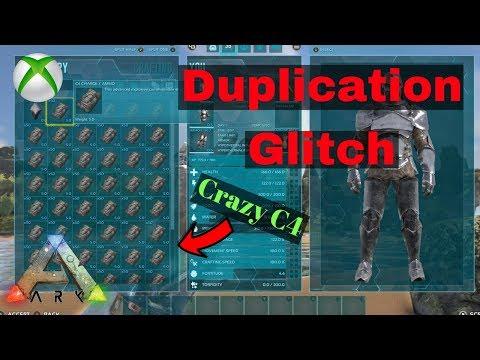 Ark Survival Evolved C4 Duplication Glitch!