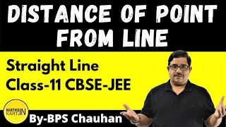 Distance of Point From Line | Class-11,12 | IIT/JEE