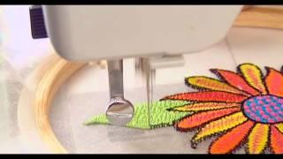 27 zig zag embroidery (Usha Janome Style Maker Series)