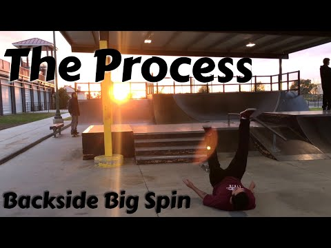 The Process: Bs Big Spin 4 Stair!