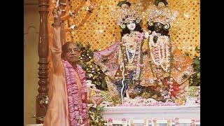 Srila Prabhupada in Vrindavan Installation of Sri Sri Krishna Balaram