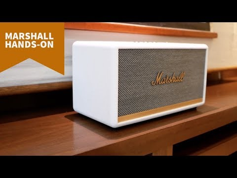 Marshall's new speakers rock!