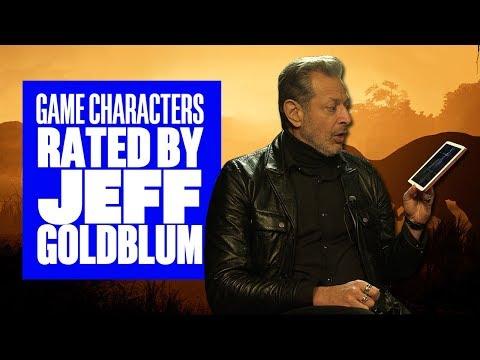 Jeff Goldblum Rates Video Game Characters  Jeff Goldblum Jurassic World Evolution