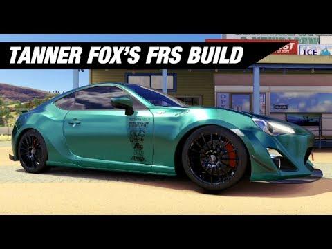 Tanner Fox S Scion Fr S Build Forza Horizon 3 Youtube