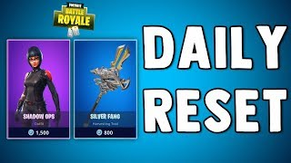 FORTNITE DAILY SKIN RESET - SHADOW OPS SKIN IS BACK!! Fortnite Battle Royale New Items in Item Shop