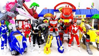 Superheroes ZORDS Rangers Appeared Defeat Thanos Juggernaut King Kong~ GO GO GO! #Toysplaytime