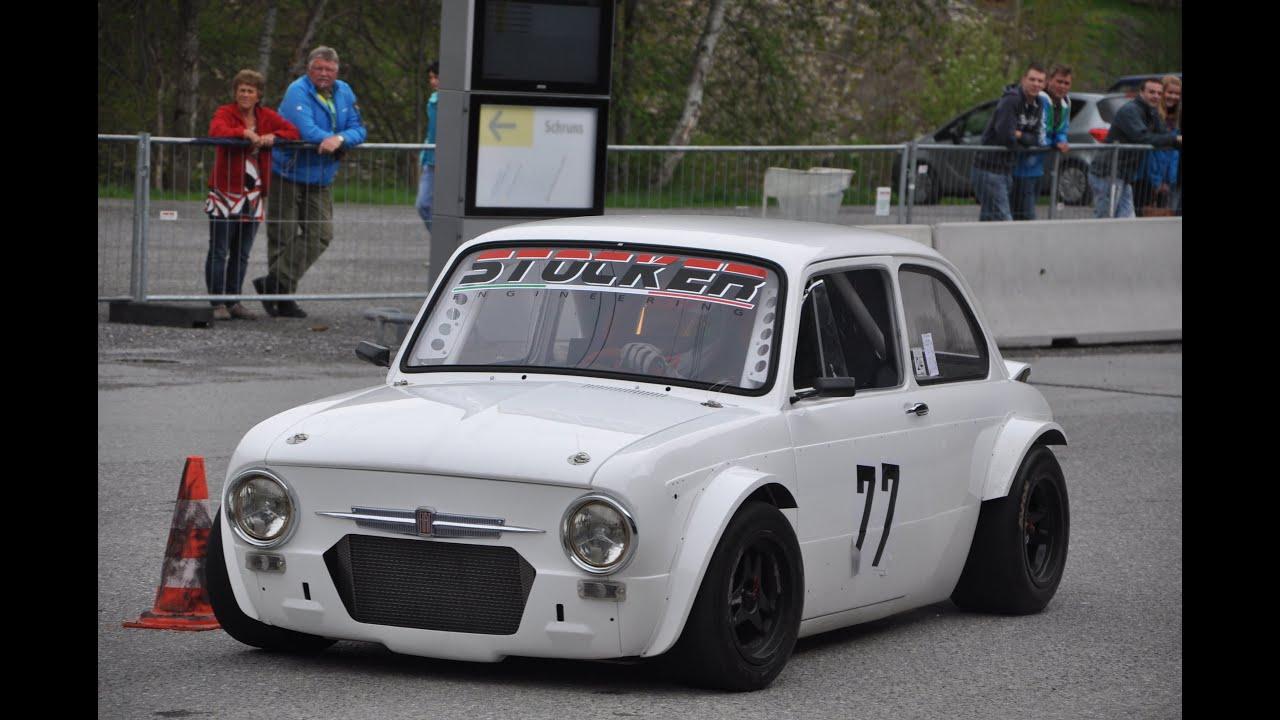 Fiat 850 Fiat 126 Prototype Austoslalom St Gallenkirch