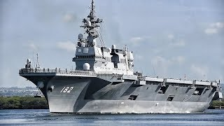 Warships Depart Pearl Harbor For RIMPAC 2018 Exercise