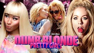 Avril Lavigne, Britney Spears, Nicki Minaj & Iggy Azalea - PRETTY DUMB BLONDE GIRLS 🍒 (Mashup) | MV