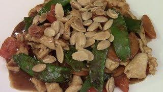 Stir Fried Almond Chicken