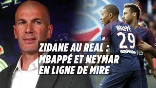 Zidane de retour au Real : la fin de Mbappé et Neymar au PSG ?