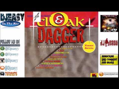 Download Cloak and Dagger Riddim Mix 1997 (shocking vibes, Clarkey+Blackey & Black label) Mix By Djeasy