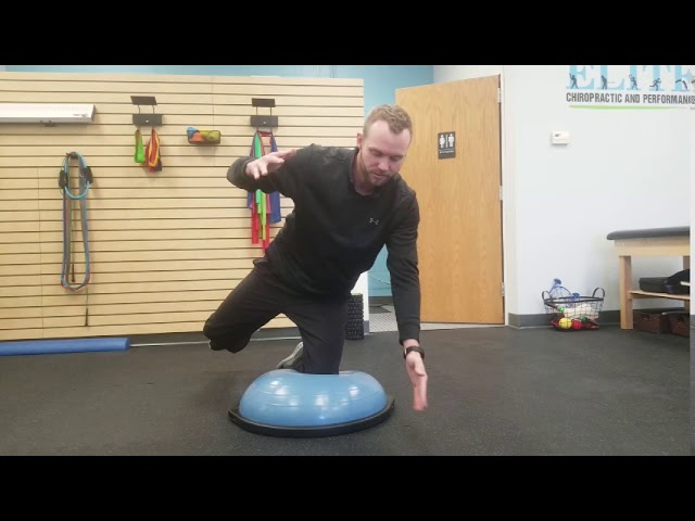 Hip Stability | Bosu Airplanes | Chesterfield Chiropractor