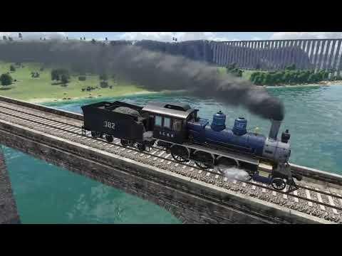 Transport Fever 2 - USA Steam Locomotives |