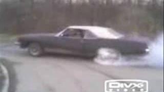 1972 Buick Centurion Burnout