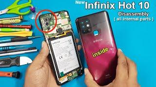 How to change infinix X559 Hot 5 inbuilt battery.