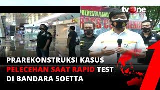 Download Lagu Polisi Gelar Prarekonstruksi Kasus Pelecehan dan Pemerasan Saat Rapid Test di Bandara Soetta | tvOne mp3