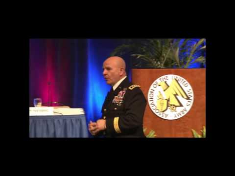 "McMaster discusses, ""Army Innovation under Force 2025 and Beyond"""