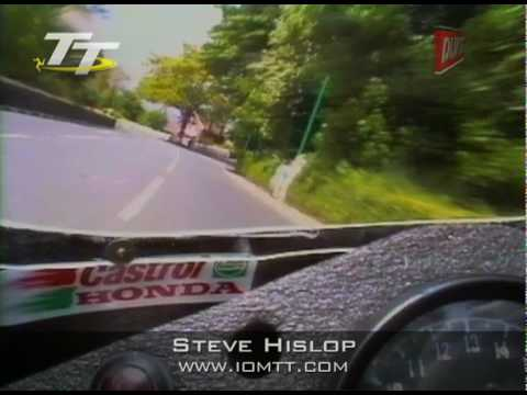 Steve Hislop - On-board