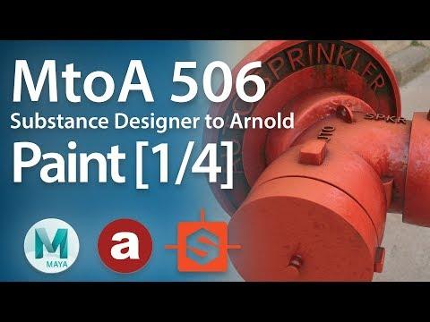 MtoA 506 | Substance Designer Part 1 Creating Paint [1/4]