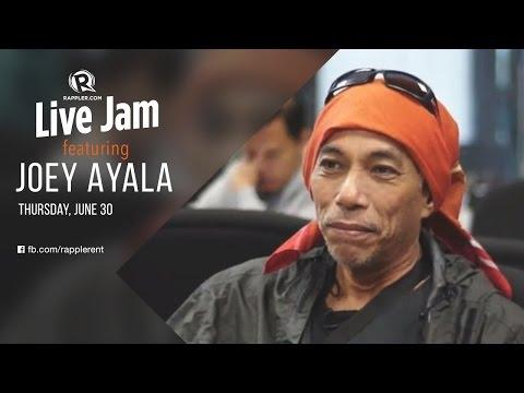 Rappler Live Jam: Joey Ayala