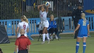 Recap: No. 14 Washington State women's soccer upsets No. 8 UCLA, marking the Cougar's first win...