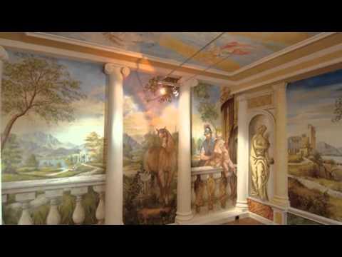 Фрески в интерьере    современная живопись с древней историей