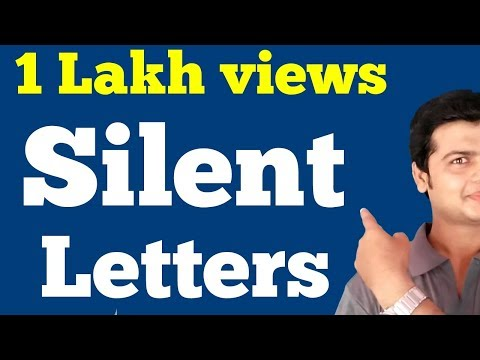 Silent Letters | English Pronunciation & Vocabulary | Learn silent Letters. Improve pronunciation.