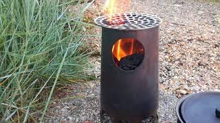 Trailstove wood burning stove