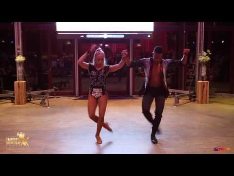 GABY Y ESTEFY BACHATA SHOW AT LUXEMBOURG UNIFIED DANCE FESTIVAL