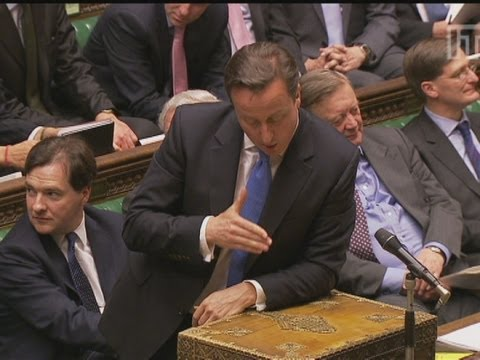 David Cameron: 'Ed Balls is a muttering idiot'