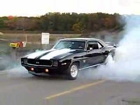 1969 Camaro Burnout Youtube