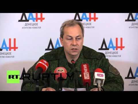 Ukraine: OSCE inspectors come under fire in Kominternovo village in Donetsk