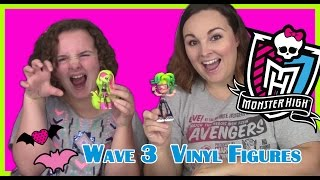 *NEW* Monster High Vinyl Figures Wave 3 Deuce Gorgon and Venus McFlytrap