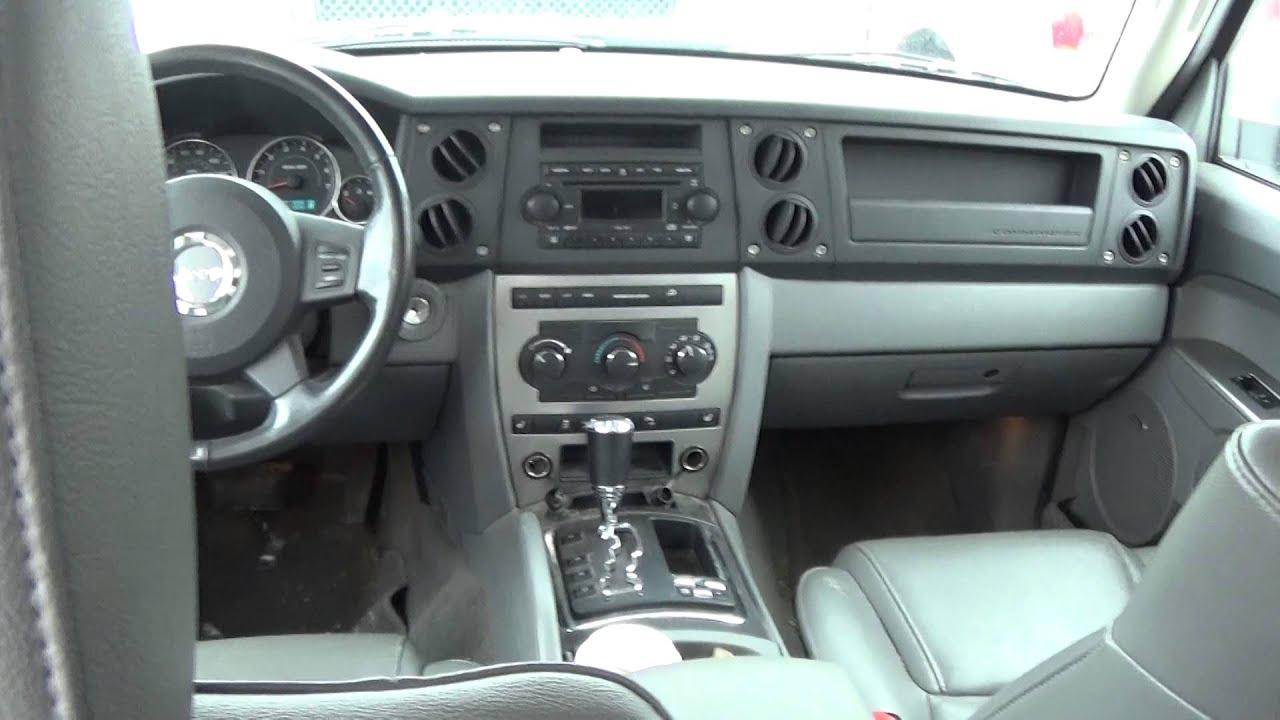 2007 jeep commander 4.7l walkaround & full tour - youtube